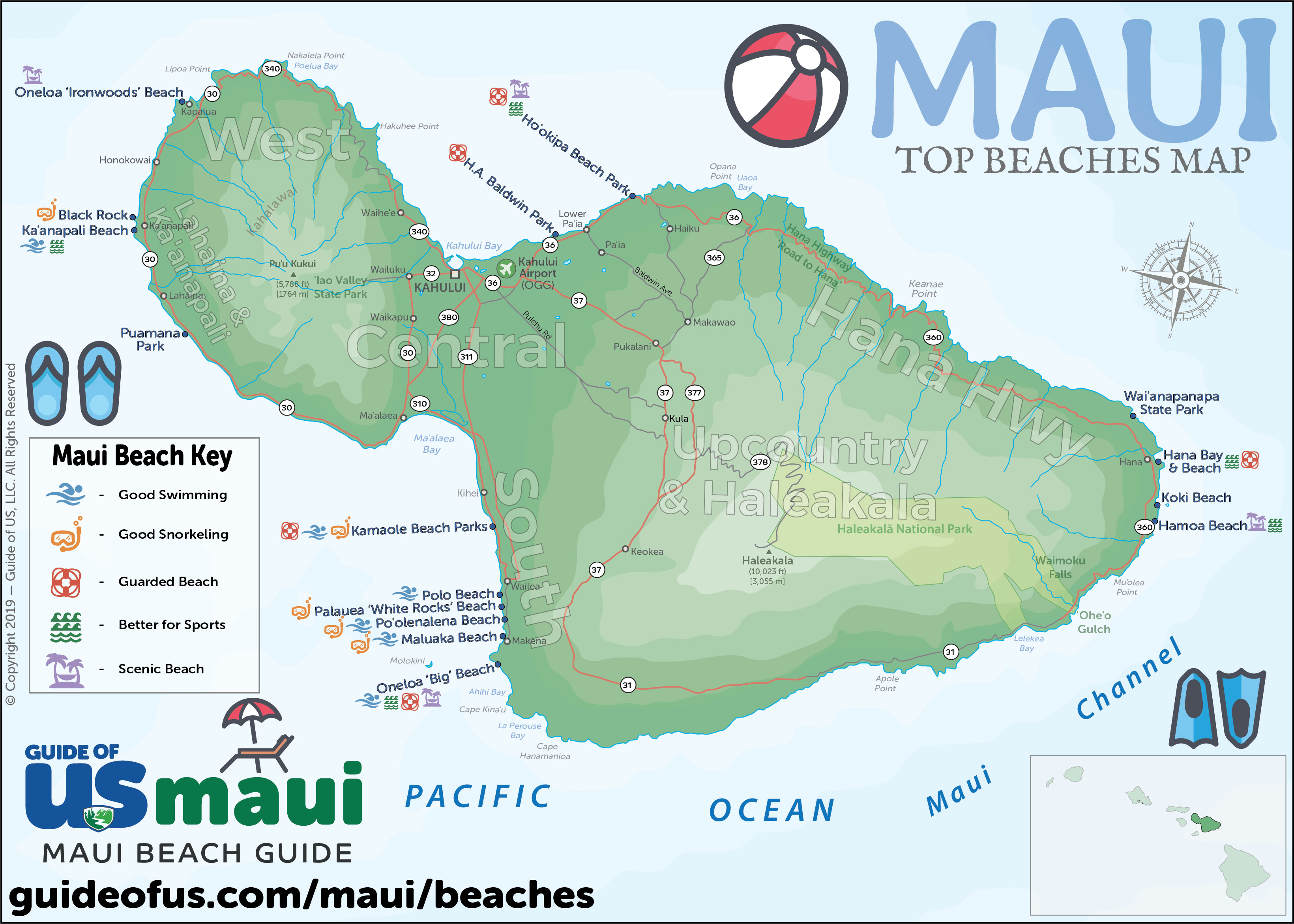 Maui Beach Guide 10 Best Beaches On Maui