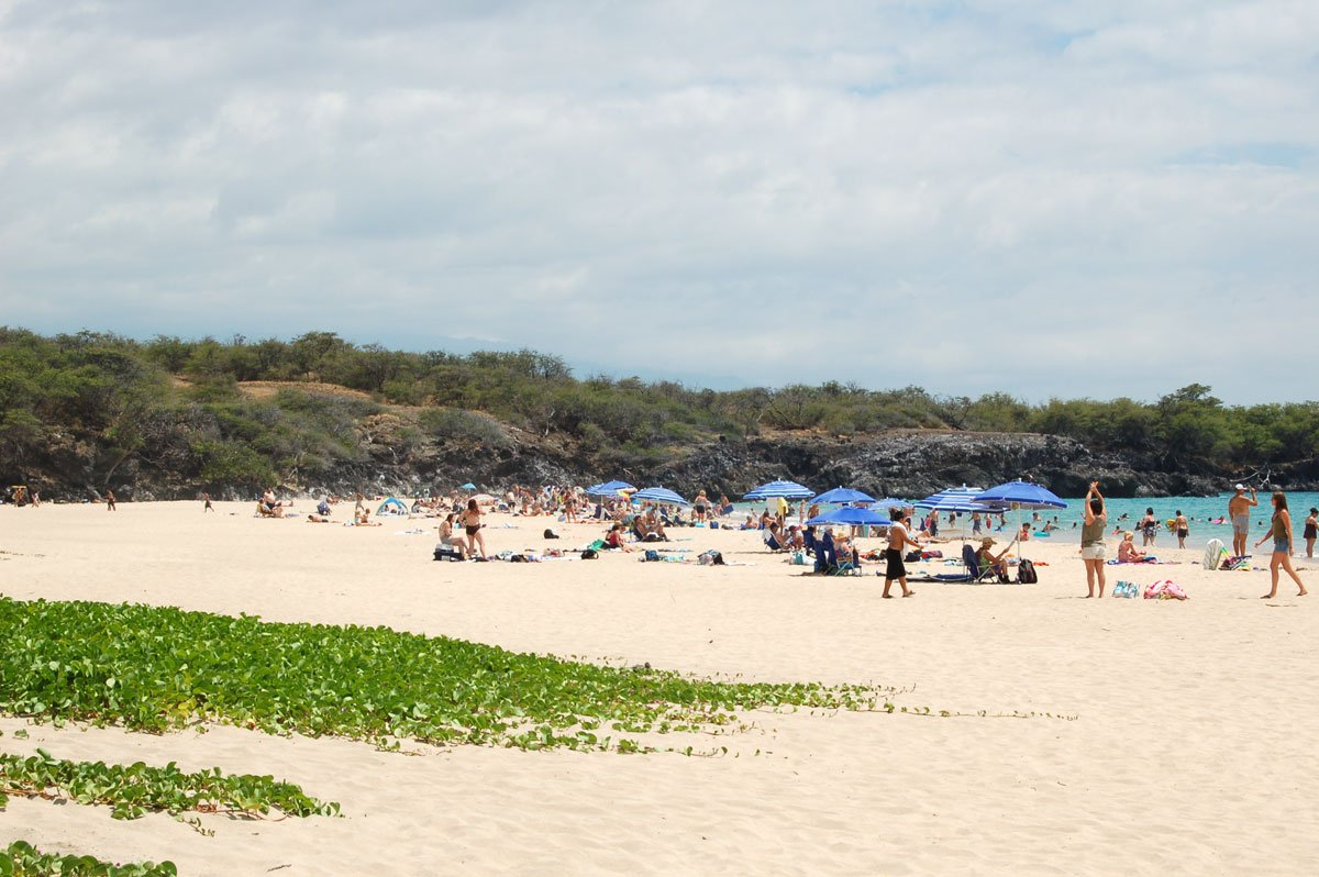 Hapuna Beach State Park Big Island Hawaii