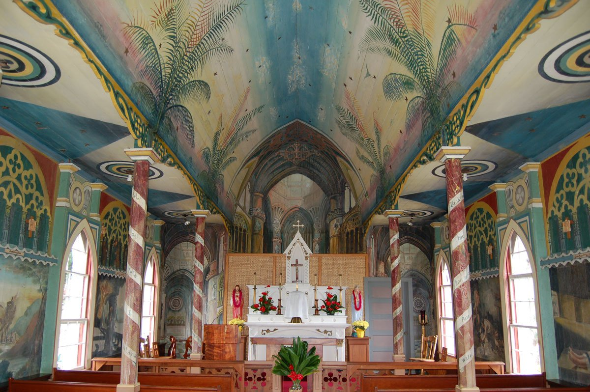 Painted Church Big Island Hawaii