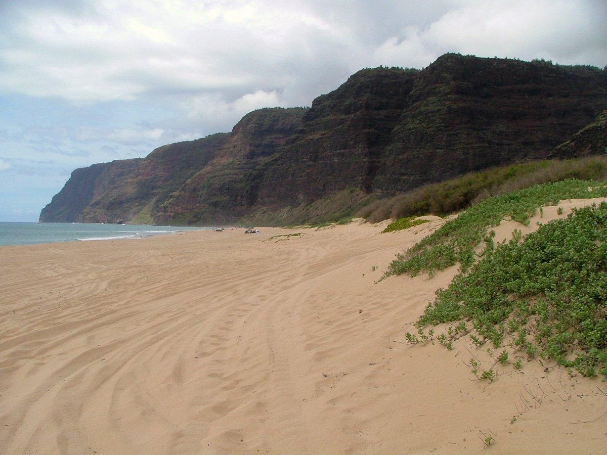 Polihale State Park Kauai Hawaii