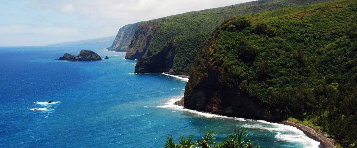 Pololu Valley Overlook Big Island Hawaii
