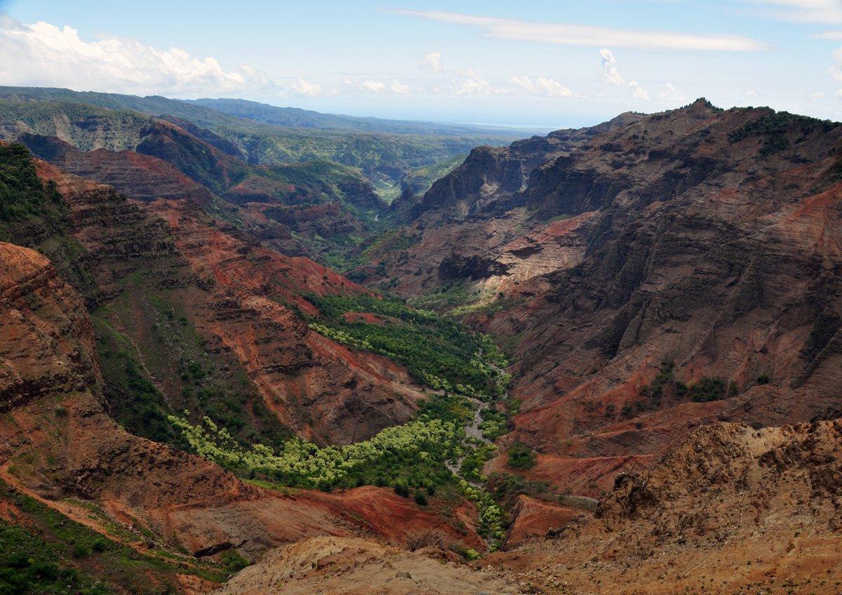 Puu Hinahina Lookout Kauai Hawaii