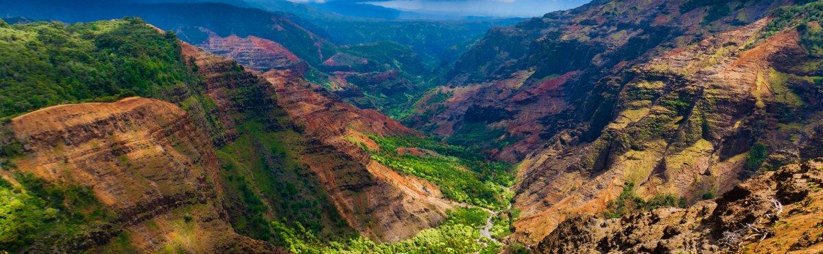 Kokee Amp Waimea State Park Hiking Trails Kauai Hawaii