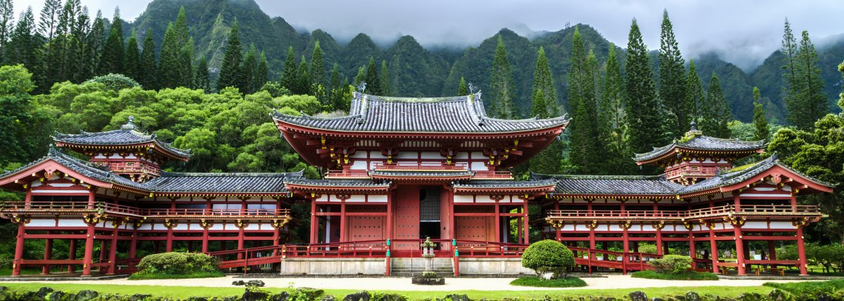 Valley Of The Temples Oahu Hawaii