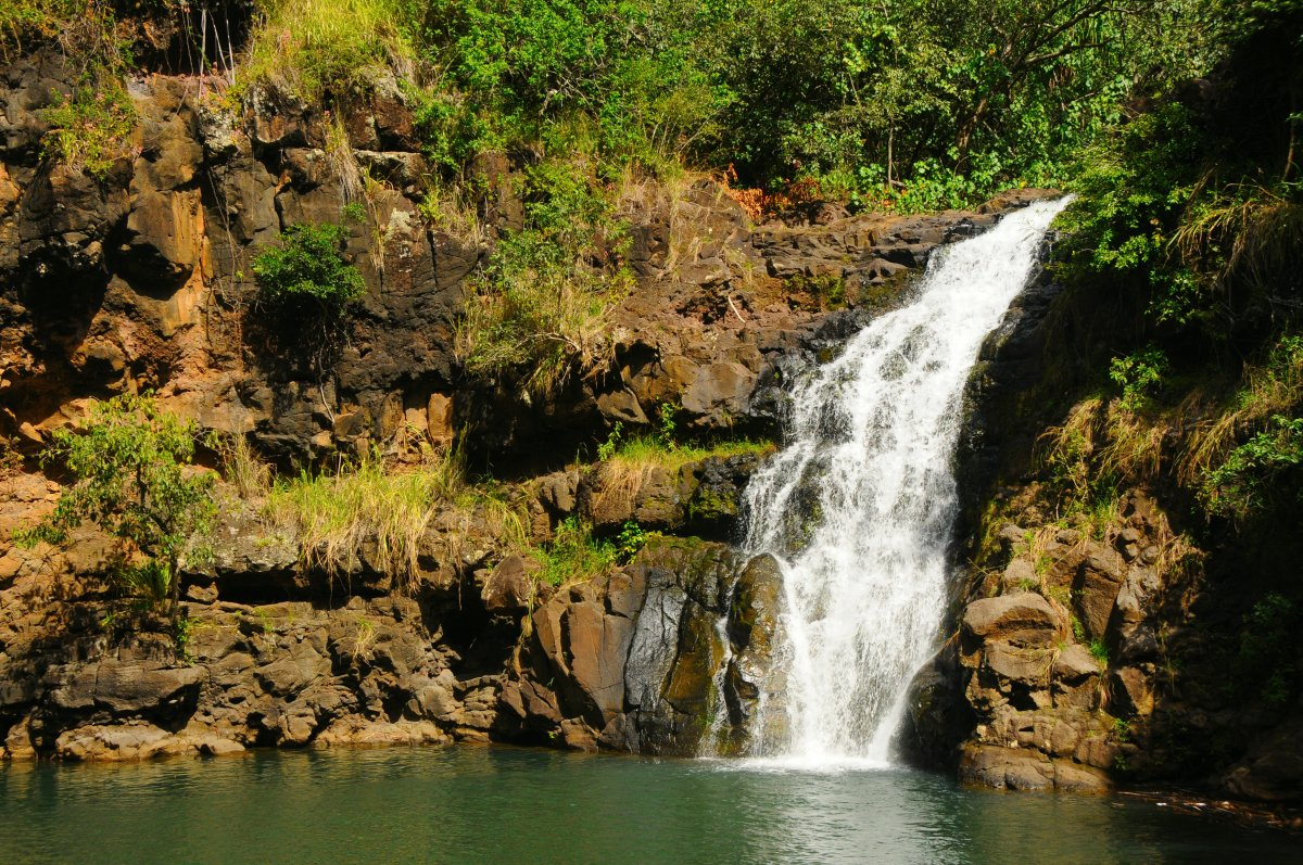 Waimea Falls Big Island Hawaii