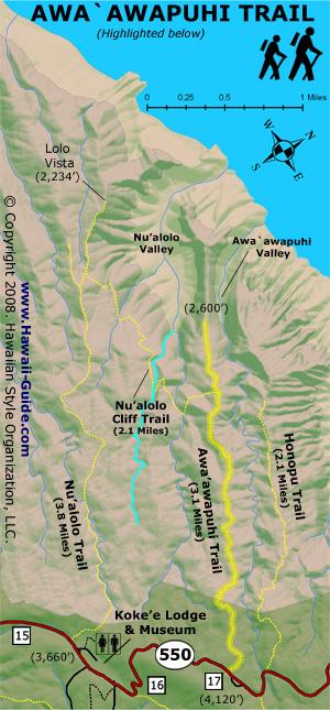 Kauai Hiking Maps on torreya state park trail map, superior hiking trail map, kauai map, sunrise trail map, mahaulepu trail map, forest park trail map, hanalei trail map, hanakapiai map, waimea trail map, na pali trail map, maui hiking map, hawaii map, appalachian trail georgia elevation map, waipio valley trail map, manoa falls trail map, napali coast hiking trail map, bonelli park trail map, kokee state park trail map, kaibab trail map, sleeping giant trail map,